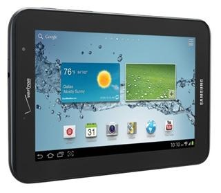 Galaxy Tab 2 7.0 Verizon Price contract