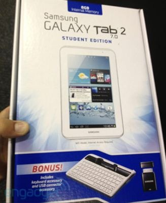 Galaxy Tab 2 Student Edition