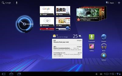 Tablet UI on Galaxy Tab 2 7.0