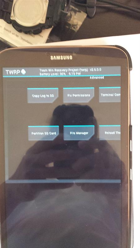 Download TWRP for Galaxy Tab 3 8.0