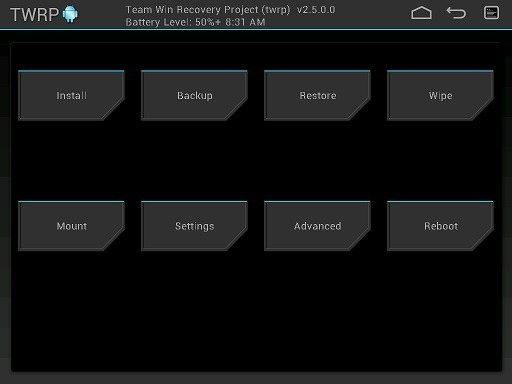 Download Galaxy Tab 4 TWRP