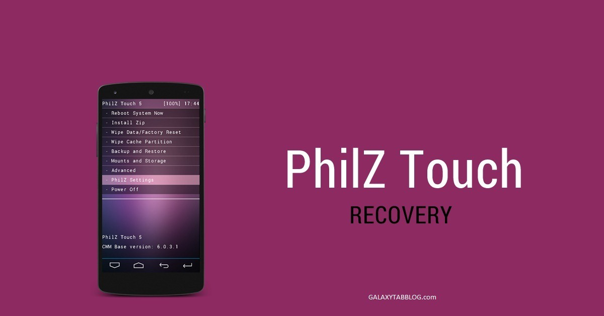 TWRP Philz Recovery available for download for Galaxy Tab 2 P3100 P3113 P3110