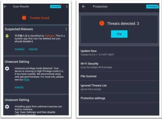 Antivirus for Android tablets (1)